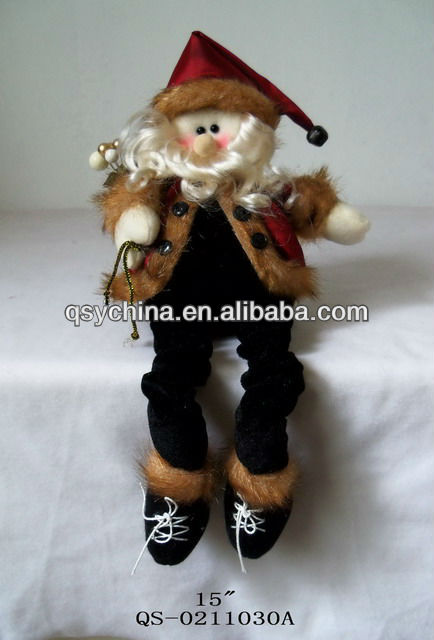 New hot black santa claus christmas decorations