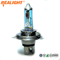 12V Halogen Bulb H4 Rainbow Blue Car Headlight H4