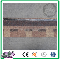 Fiberglass asphalt roofing shingles coloured high quality roofing materials with low price