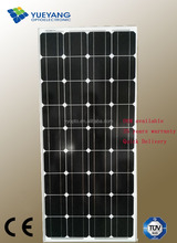100% TUV Standard high efficiency high quality mono frameless silicon solar panel