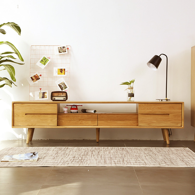 Wholesale american <strong>style</strong> classic luxury living room home <strong>furniture</strong> simple tv stand oak solid wooden <strong>designs</strong> modern tv cabinet
