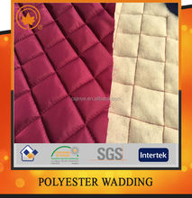 Diamond double side quilted fabric for garment