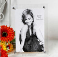 Acrylic photo frame, magnet picture frame, soft Rubber frame