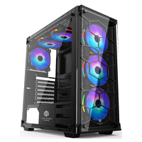 EATX PC Case Tempered Glass Gaming Computer Case