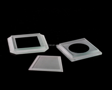 Step tempered glass covers for LED underground light, glass lighting accessories