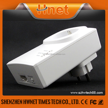 Hnet PLC 200M powerline enthernet adaptor Wifi home plug AV Powerline Network Mini Powerline Adapters with socket