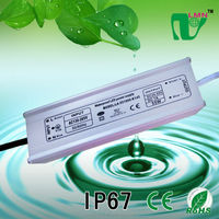 53W waterproof constant current led driver