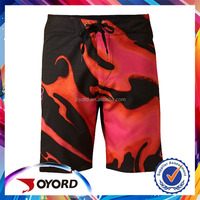 model beach shorts for men