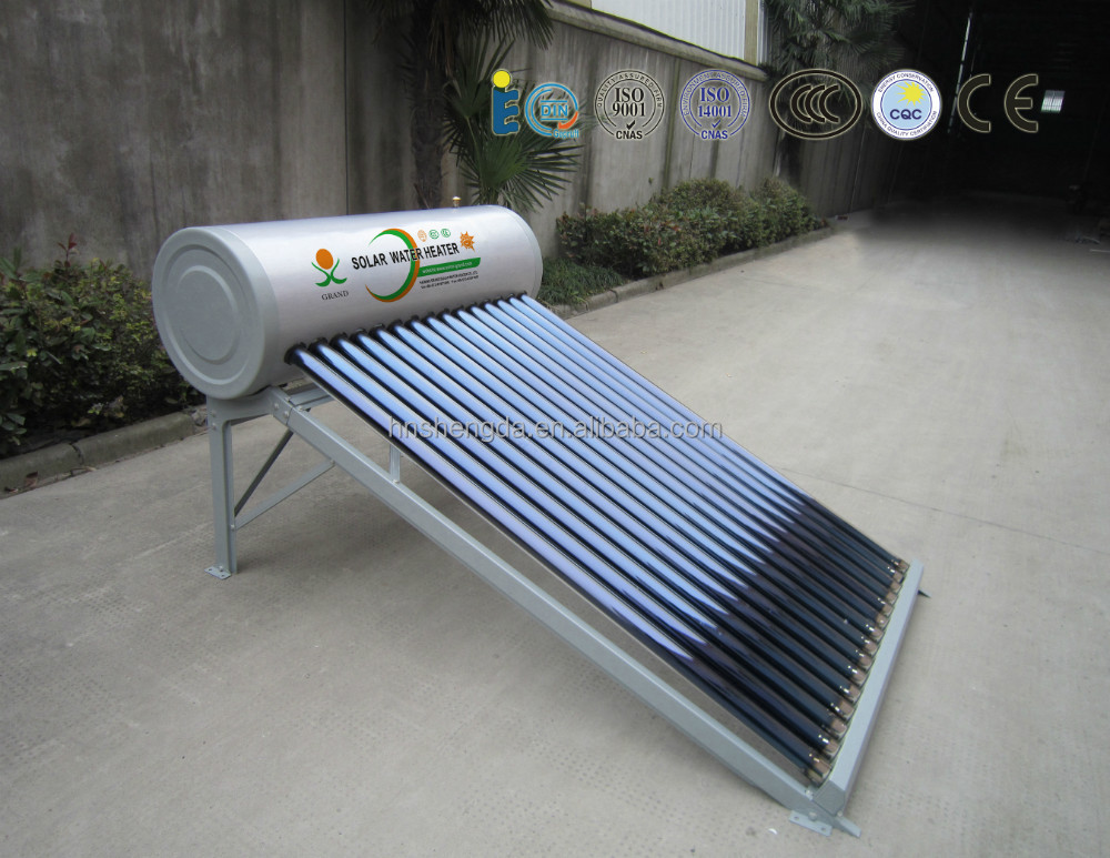 top 10 manufacturers of high quality non-pressurized solar heater