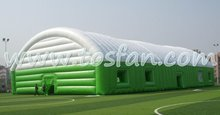 High quality 25m x 15m giant sewed inflatable tent for wedding party with best price F4050