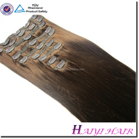 Wholesale Alibaba Remy Virgin Hair Best Quality Remy Straight Clip In Malaysia Hair Extension