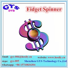 Fidget Spinner Rainbow Color Light Spinner Toy For Adults Metal Spinner With High Quality