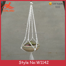 W1142 New fashion hanging Plant cotton rope Plant Holder