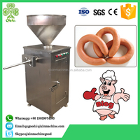 China supplier multifunction halal chicken mortadella casing filling machine / pork chorizo sausage making machine