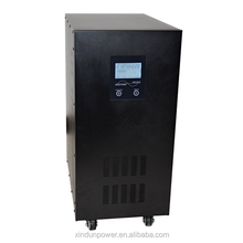 CE&ROHS ISO LCD displays pure sine wave intelligent 10kw off grid dc/ac solar power inverter