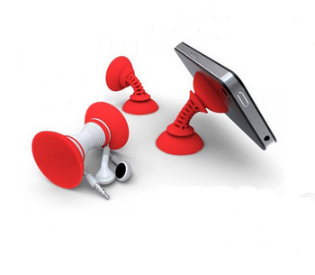 double sided suction cup adjustable mobile phone holder shelt seat
