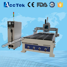 4 axis high speed cnc wood router / ATC 1530 cnc wood carving door router machine for sale