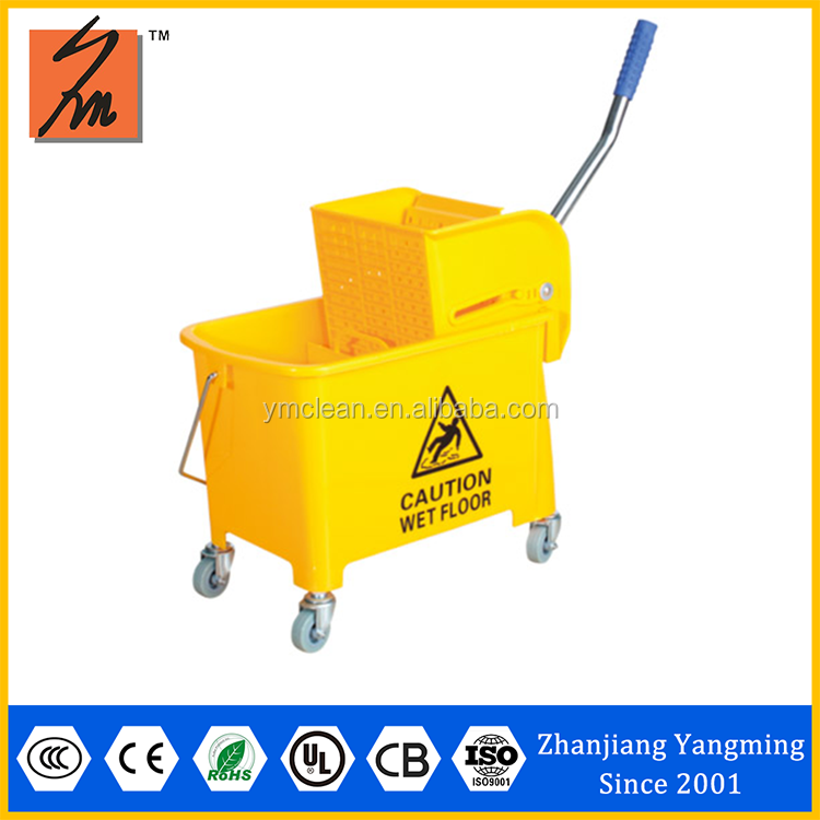 Good quality Y1009 double mop buckets with wringer