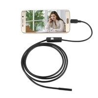 8mm Lens 5M Usb Android Endoscope 6 LED Inspection Tube Snake Waterproof Endoscope Borescope Hd Camera for Android Mobile