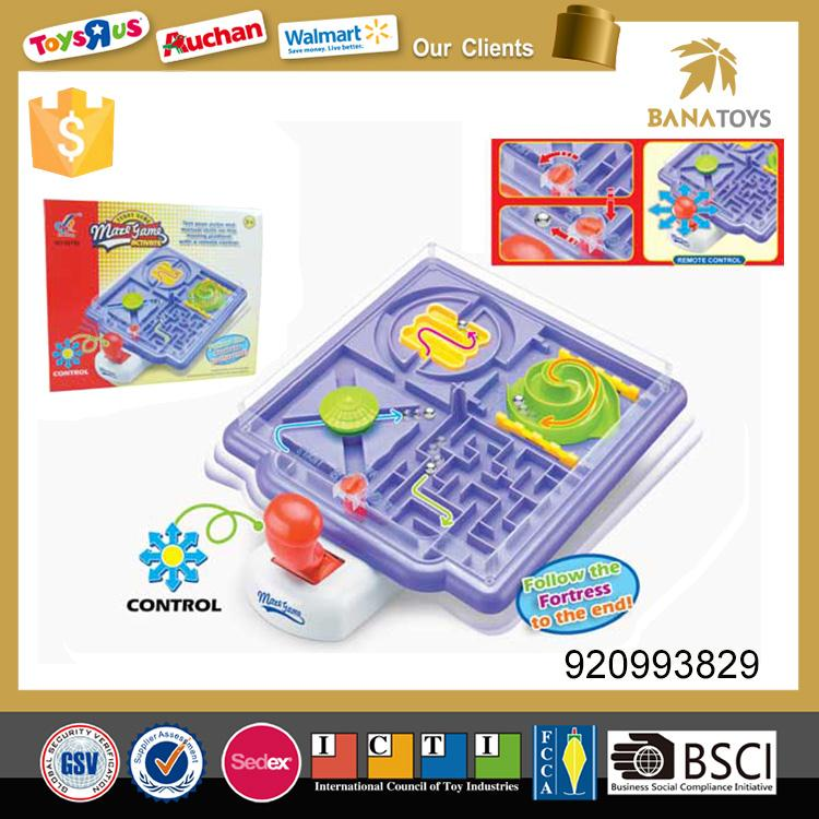 4 in 1 intelligent ball bearing maze game