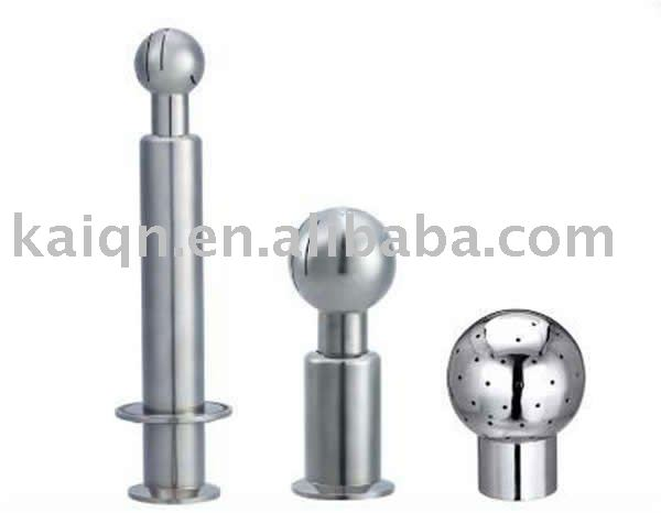 sanitary stainless steel clamped cleaning ball tank washer