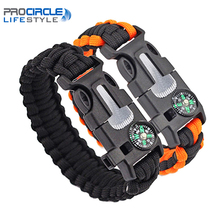 Camping Equipment Multifunction Survival Bracelet 5 in 1