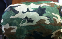 Cordura coyote brown military camouflage fabric, Hunting camouflage fabric, Tissu de camouflage de chasse