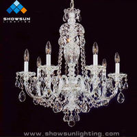 indian style crystals chandelier light lamps