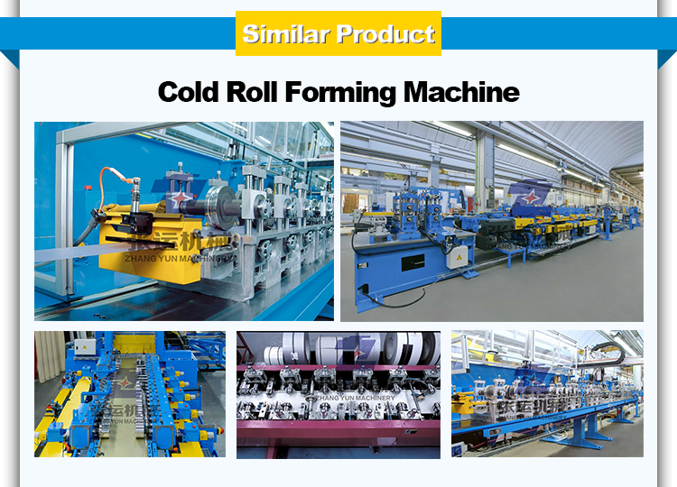 New aluminum automatic operating full automatic cold roll forming machine