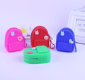 Silicone newly-designed backpack style purse mini backpack purse