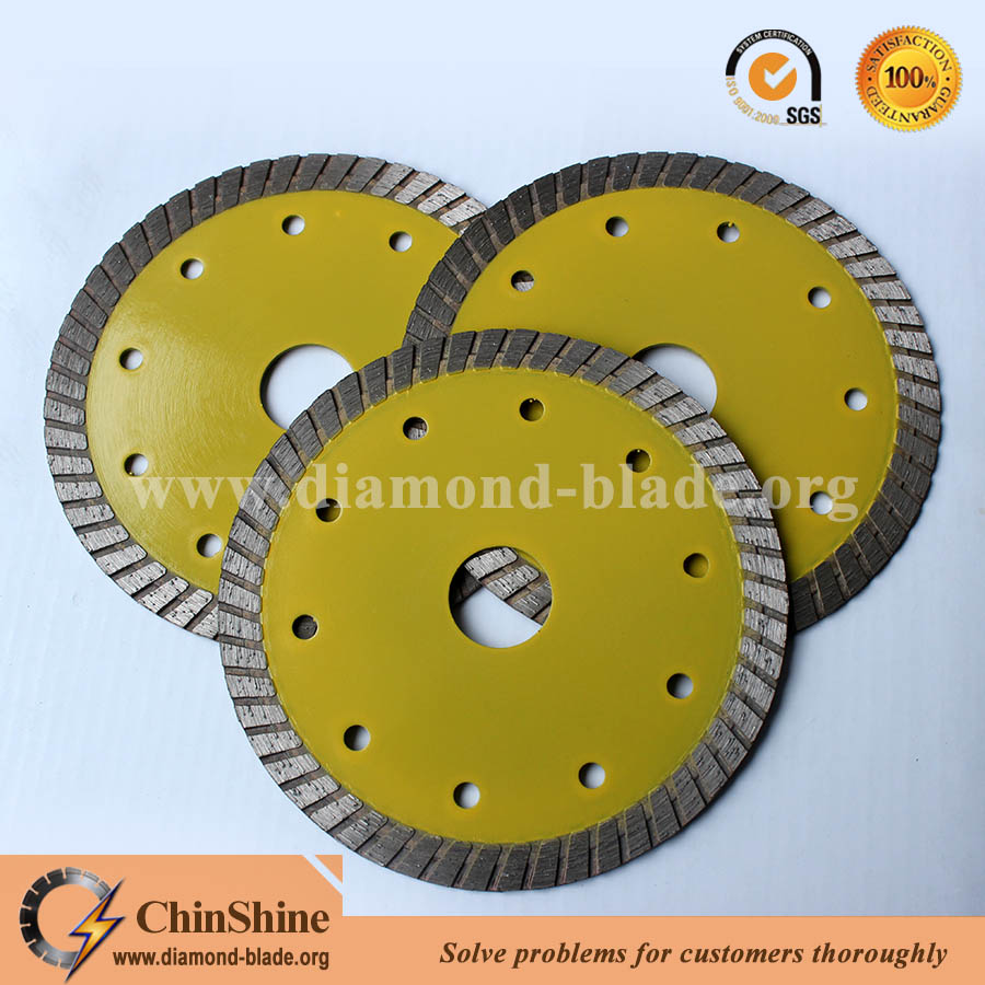 wholescale sintered turbo diamond saw blade for sale in low price