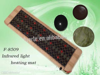 Infrared heating mattress F8509 160*60cm massage pad,15 inrared lamps