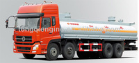 8X4EQ5311GJYT heavy fuel Oil Tanker /dongfeng truck for sale