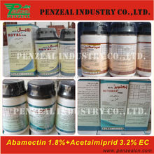 Acetamiprid 32g/l +Abamectin 18g/l EC, Insecticide