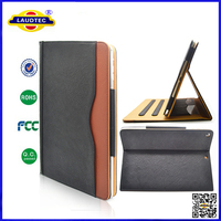 Leather Wallet Smart Folio Flip Case for iPad Air