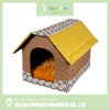 China high quality new arrival latest design pet product cardboard house for cats