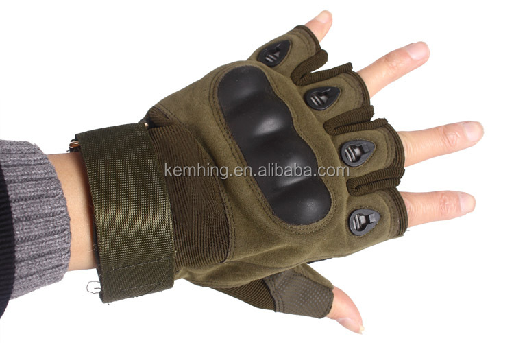 High Quality Protective Full half Finger gym gloves sports Military glove gym Tactical Training gym gloves