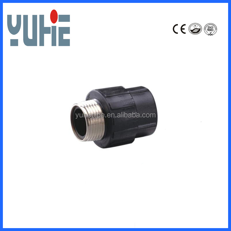 Polyethylene HDPE pipe fittings PE male adapter coupling