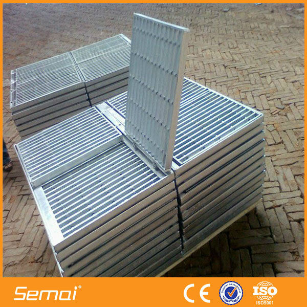 high quality 30mm steel grating standard size for offshore reliable supplier