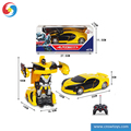 YK0810214 Remote control robot RC action figure car with lights sounds