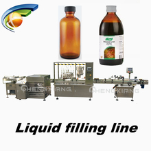 18 years factory piston filler pharmaceutical syrup filling machine