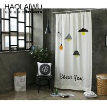 New arrival decorative ready made window wholesale fabric printted curtains