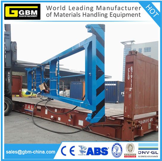 GBM lift spreader container for 20ft,40'' 45ft 53ft container spreader beam frame