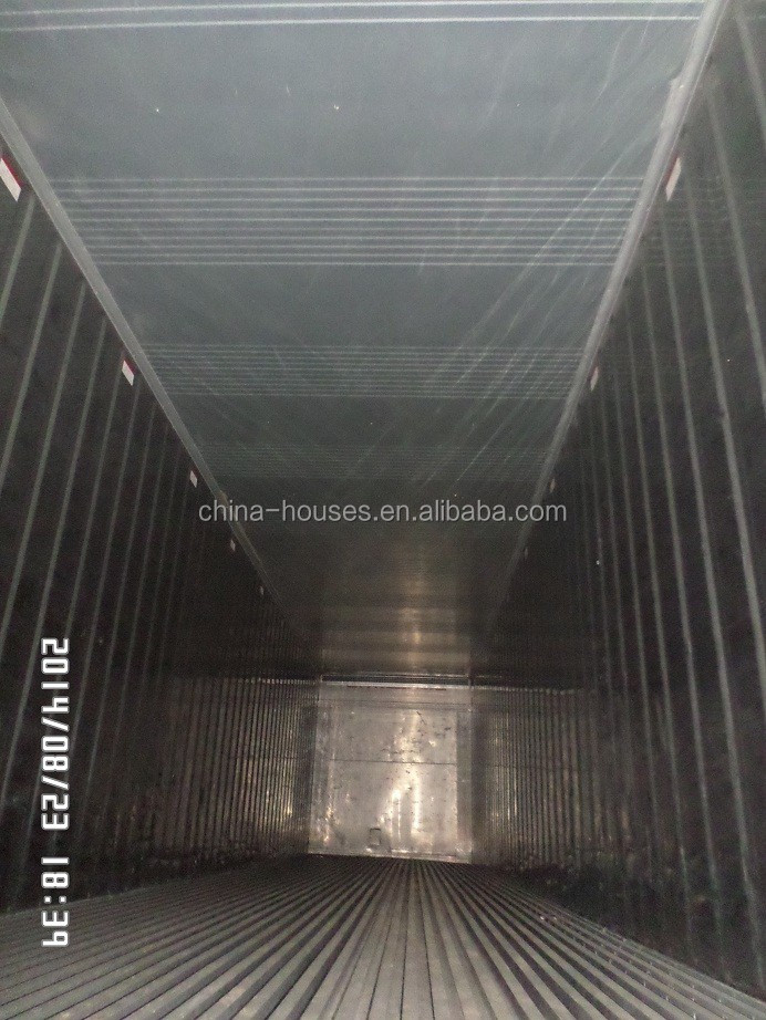 Seafood Meat Vegetable Cold Storage 20ft and 40ft Used Reefer Container