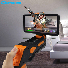 Factory Wholesale Electronic AR Gun Smart Android Phone Bluetooth Adult Children AR Game Player Toy Guns For Sale