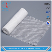YD80009 Summer Cotton Fabric Gauze Rolled Bandage Surgical Dressing