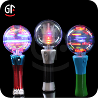 Hot Sale Cheap Plastic Super Bright Flashing Led Spinning Toys