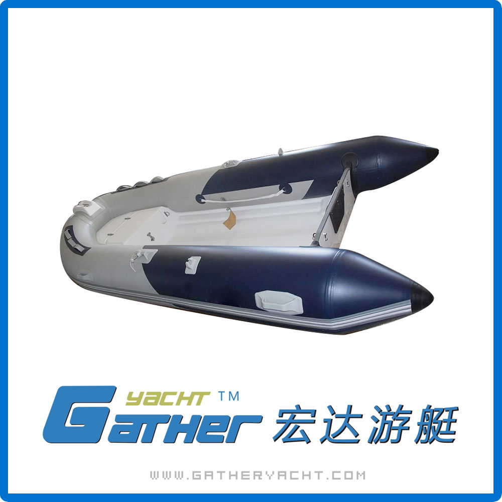 Gather Yacht best-selling pvc Classic design cheap inflatable hypalon rib boat