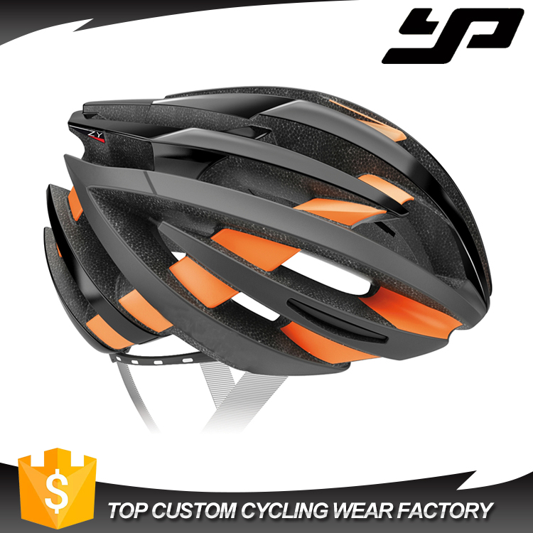 Whoelsale bicycle Helmet Safety orange cycling Helmet Mens adult bike helmet