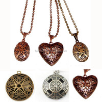 Wholesale Essential Meaningful Pendant Necklace, Diffuser Necklace, diffuser locket